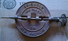 Vintage Antique 6 Inch Griswold New American Stove Pipe Damper Erie, Pa