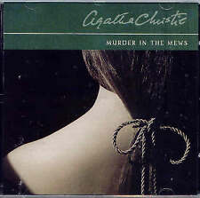 Murder in the Mews by Agatha Christie (CD-Audio, Abridged, 2004) NEW BUT NO CASE