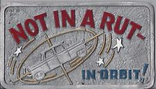 """Car plaques tail draggers Not in a rut  Ford/Mercury/Chrysler Dodge  8 x 5"""""""
