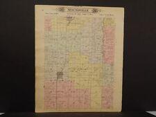 Missouri Vernon County Map Moundville Township 1903 Dbl Side  L10#99