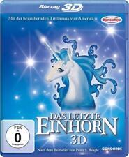The Last Unicorn - In 3D + 2D -Arthur Rankin, Jules Bass NEW Bluray Region A B C