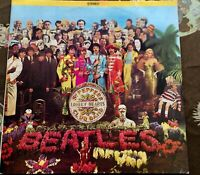 The Beatles SGT PEPPER'S LONELY HEARTS CLUB BAND SMAS 2653 First Press Excellent