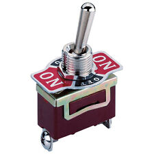 Toggle Switch, DPDT, On-Off-On 250V AC 3A 3 Positions