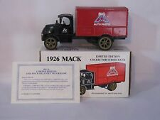 1926 Mack Delevery Truck Big A Auto Parts #3 in The Series Collector Series Bank