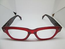 Peepers Boa Reading Glasses Readers Red Black +1.50