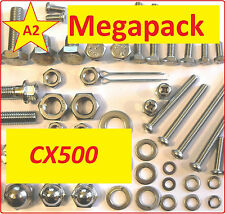 Honda CX500 -  Pattern Nut / Bolt / Screw Stainless MegaPack