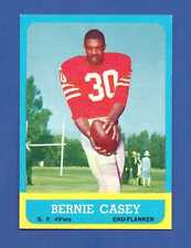 1963 Topps # 137 Bernie Casey  San Francisco 49ers  EX/MT++ Additional ship free