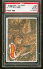 1969 Topps Planet of the Apes #30 Ape Madhouse! Psa 9 (Oc) Mint tough!