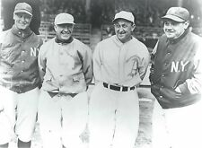"""BABE RUTH- LOU GEHRIG- TY COBB- TRIS SPEAKER - Glossy 8""""x10"""" PHOTO- HALL of FAME"""