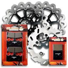 Suzuki F+R Stainless Steel Brake Rotor + Pads GSXR 750 [96-99] TL 1000 R [98-03]
