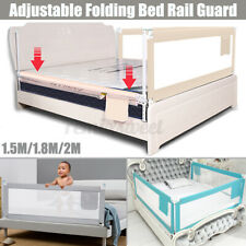 71/79'' Kids Child Bedguard Toddler Safety Bed Rail Guard Folding Protection Usa