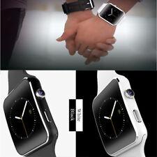 Men Women X6 Smart Watch Bluetooth Smartwatch Support SIM card For IOS Andriod B