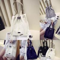 Damen Korean Canvas Handtasche Schulter Messenger Bag Satchel Tote Handtasche
