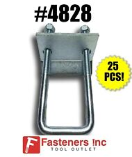 "(QTY 25) 1-5/8"" Beam Clamps for Unistrut / B-Line Channel #4828 P2785"