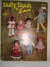 Vintage Emu Dolly Book Knitting Patterns for Dolls
