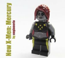 LEGO Custom --- New X-Men Mercury --- Marvel Super heroes minifigures