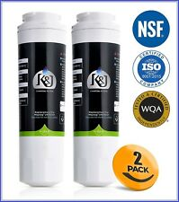 Refrigerator Water Filter for Maytag Ukf8001, 8001Axx, Whirlpool 4396395,2 Pack