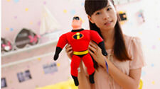 MATTEL 45CM MARVEL HERO MR INCREDIBLE ACTION FIGURES DOLL PLUSH SOFT STUFFED TOY