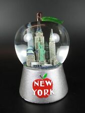 New York Schneekugel Freedom Tower,Empire,Liberty,Chrysler,9cm Souvenir,Apple