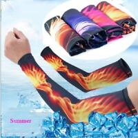 Arm Sleeves UV Sun Skin Protection 1 Pair Golf Athletic Arm Cooling Cover