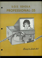 Super Rare SOS Ediola Professional Pro-35 Editor Viewer Dealer Brochure