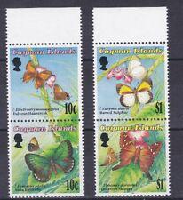 Cayman Islands 1994 Farfalle 735-38 MHN