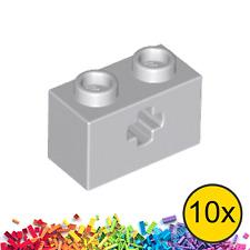 New ☀️ 10x LEGO™ Dark Stone Grey Modified 2 x 2s and Axle Shaft Bricks Brick