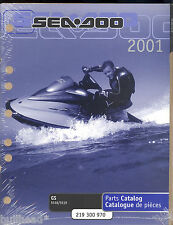 2001 Sea-Doo Water Vehicles Gs 5518 / 5519 Jet Ski Parts Manual
