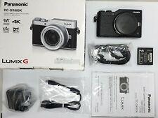 Immaculate/Boxed Panasonic Lumix GX800 16.0MP Digital Camera - Black (BODY ONLY)