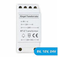 Klingeltrafo trafo Klingel Transformator 8V 12V 24V bell transformer (EB/ZB31)