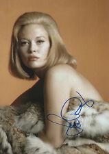 "Faye Dunaway ""Bonnie & Clyde"" Autogramm signed 20x30 cm Bild"