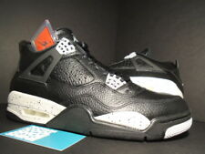 Nike Air Jordan IV 4 Retro LS OREO BLACK COOL TECH GREY CEMENT 314254-003 NEW 11