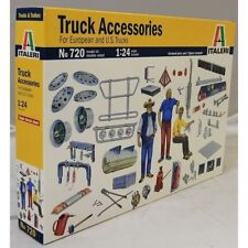 ITALERI 1:24 KIT ACCESSORI CAMION TRUCK ACCESSORIES EUROPEAN - U.S. TRUCKS   720