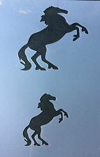 Horse on two legs Mylar Reusable Stencil Airbrush Painting Art Craft DIY