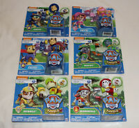 Spin Master Paw Patrol Mission Quest / Jungle Rescue Hero Pup Figure 6 Pack