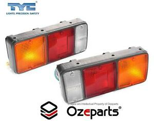 Set Pair LH+RH Tail Light Rear Lamp For Mitsubishi Fuso Canter Truck 1986~1995