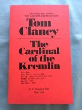 THE CARDINAL OF THE KREMLIN - UNCORRECTED PROOF BY TOM CLANCY