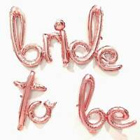 Rose Gold BRIDE TO BE Foil Letters Balloon 16in Bachelorette Party Decorations