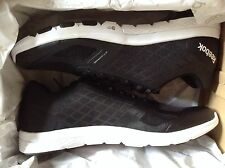 NEW REEBOK QUANTUM LEAP MENS COMFORT RUNNING SHOES BLACK & WHITE‏ MS8