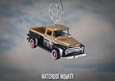 1956 Ford F-100 Pickup Truck Christmas Ornament 1/64 Firestone Adorno F100