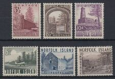 Norfolk 1953 ** Mi.15/20 Bauwerke Buildings Bloody Bridge Tower [st1538]