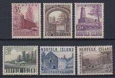 Norfolk 1953 ** Mi.15/20 Bauwerke Buildings Bloody Bridge Tower [st1538]