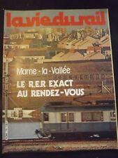La vie du rail n°1776 du 15/01/1981 -  MARNE LA VALLEE -LE RER EXACT AU RDV