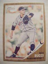 NICK BUCCI 2011 Topps Heritage Minors WISCONSIN baseball card SARNIA CANADA #71