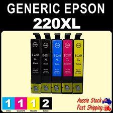 4x 5x 6x  220XL 220 XL Compatible Inks for EPS WF2630 WF2660 XP220 XP420 Printer