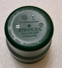 STANLEY Coffee Cup 30-01071 Green Thick Plastic Material - 10 ounce, 296ml size