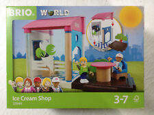 Brio World 33944 ICE CREAM SHOP Brand New In Package Ages 3-7 13 pcs