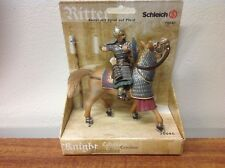 Schleich World of Knights Soldier with spike on horse 70040