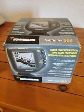 Humminbird Fishfinder 565 High Res Dual Beam 5� Display, Manual & Original Box