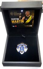 RICHMOND DUSTIN MARTIN 2017 BROWNLOW MEDAL REPLICA MEDAL IN BOX OFFICIAL AFL